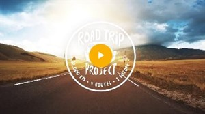 Screenshot: ROAD TRIP PROJEKT