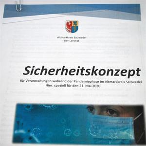 Bild_(c)_AMK: Sicherheitskonzept des Altmarkkreises Salzwedel für den 21.05.2020